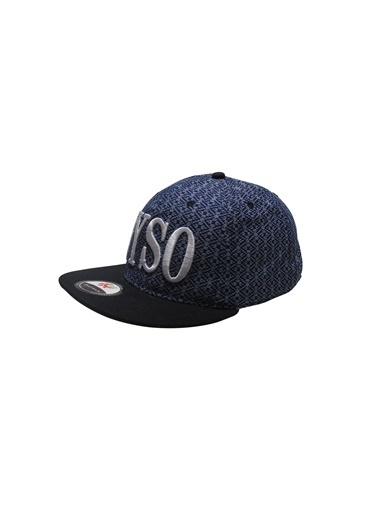 Laslusa NYSO Hip Hop Snapback Şapka Mavi